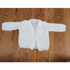Vintage Handmade Baby Cardigan 9 month